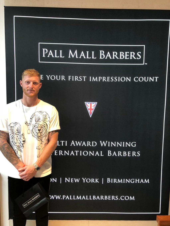 Ben Stokes Haircut